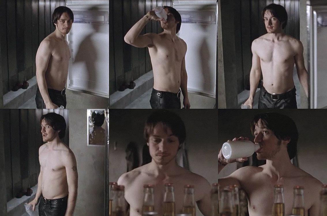 james mcavoy shirtless