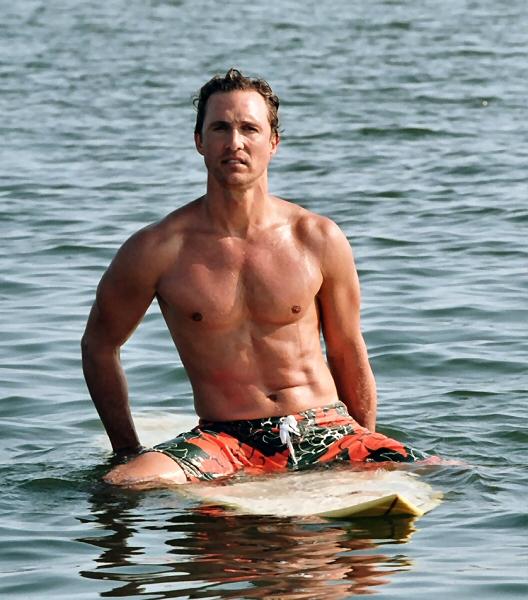 Matthew McConaughey Dick Slip - Naked Male celebrities