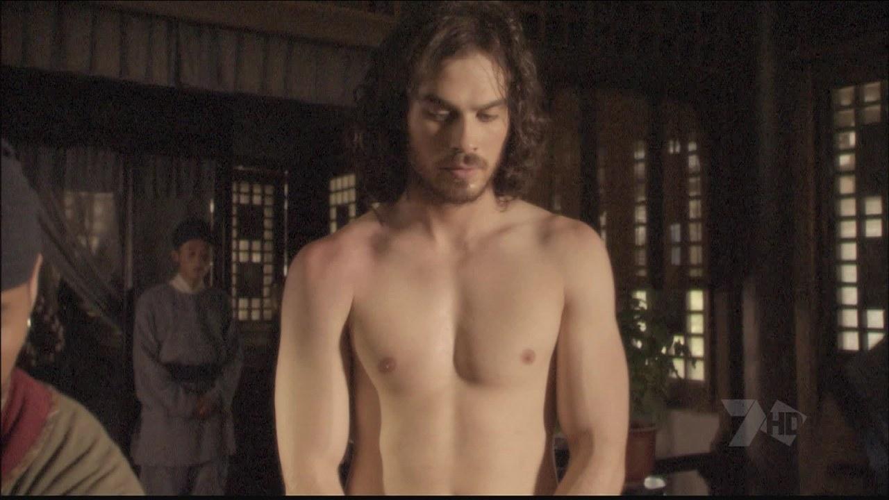ian somerhalder hot naked