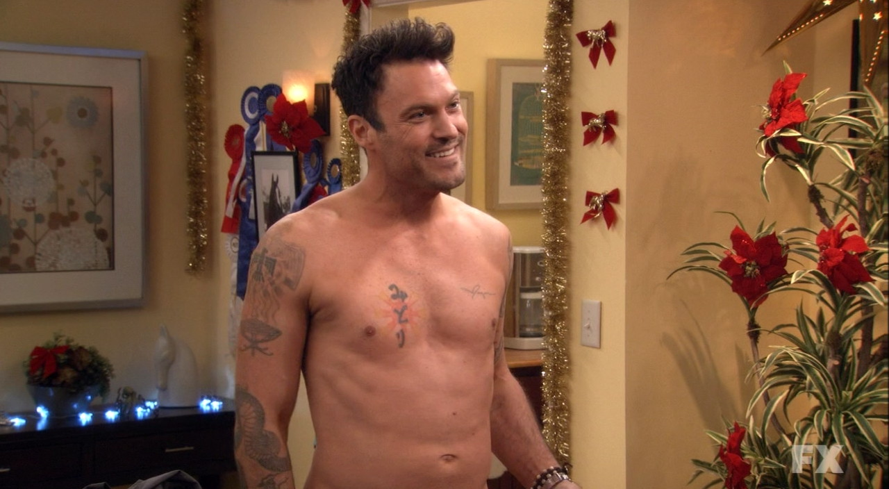 brian austin green shirtless anger management