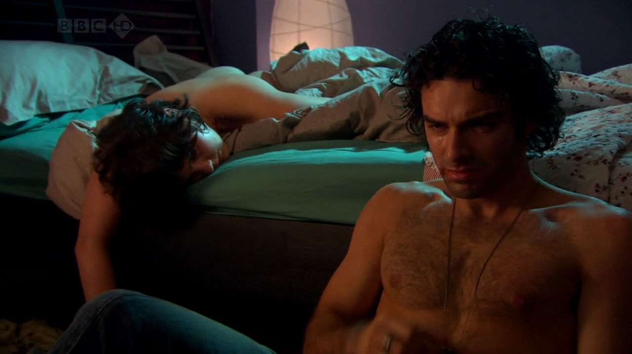 aidan turner shirtless being human