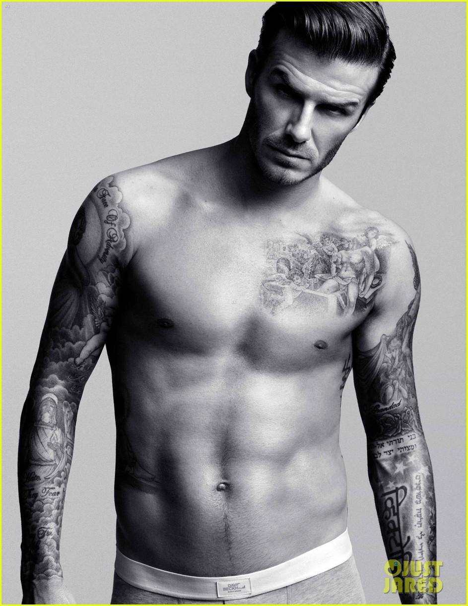 David Beckham ass