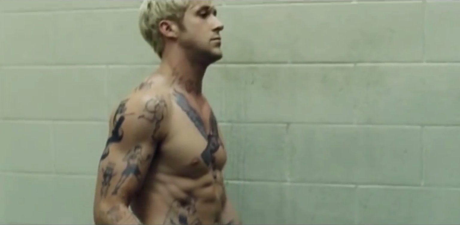 naked nude Ryan gosling