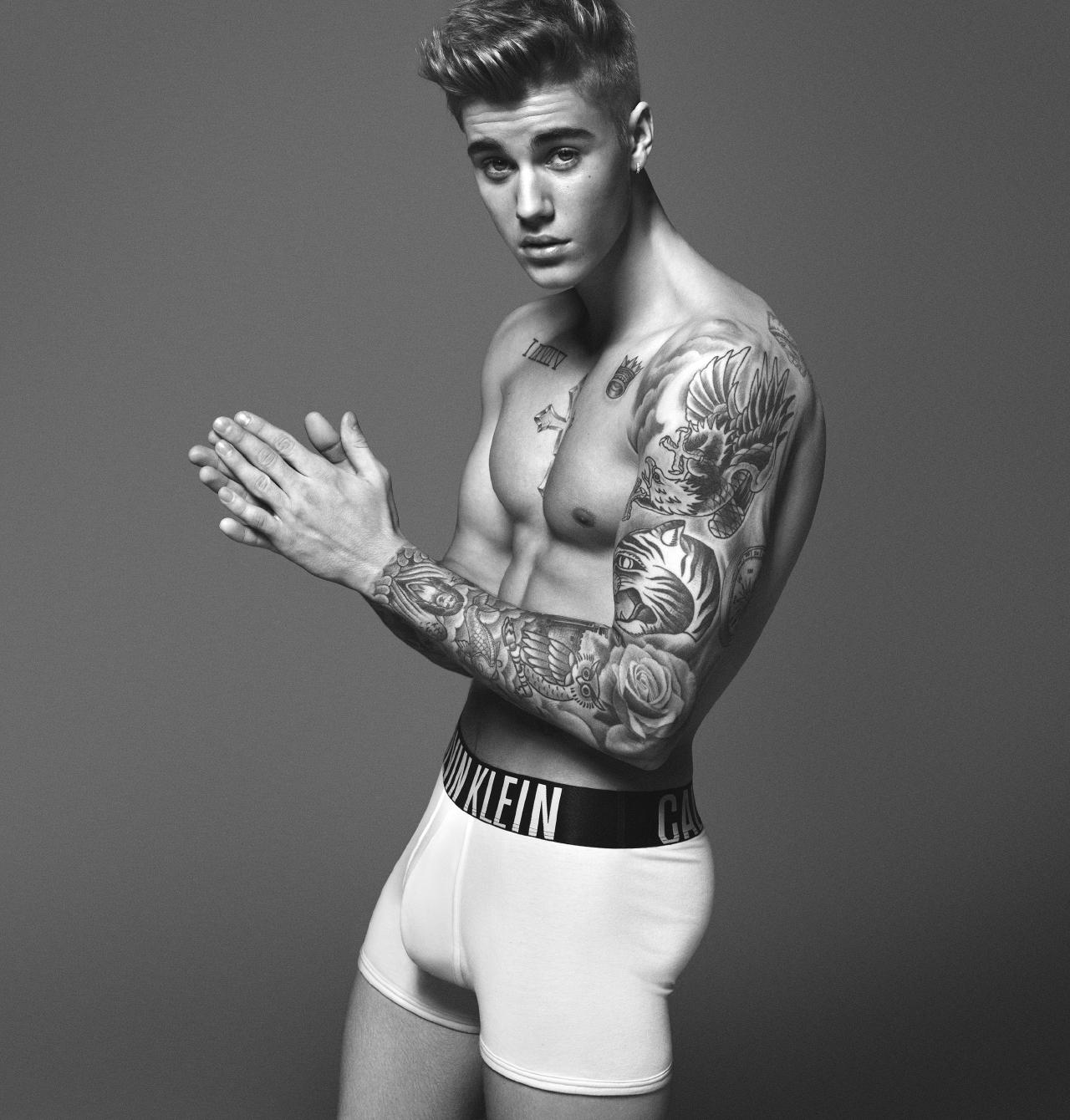 Justin Bieber in pants