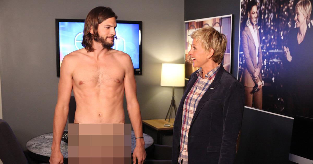 Shirtless ashton kutcher