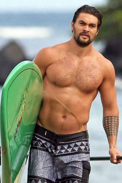Khal Drogo From 'GOT Was A Babe In The Original 'Baywatch' |Jason Momoa Body Scars