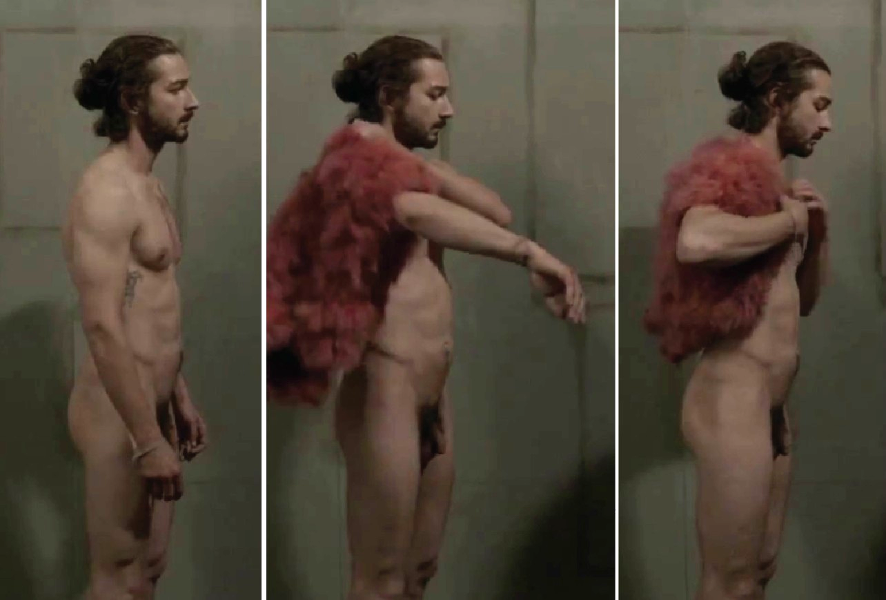 shia labeouf young naked