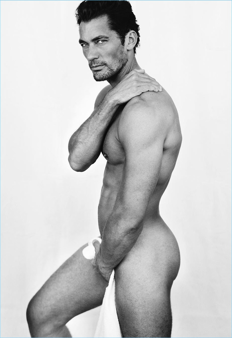 gandy Naked nude david