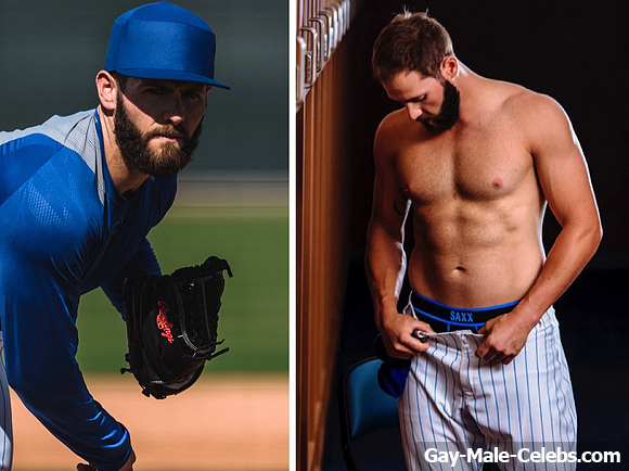 hot nude baseball player