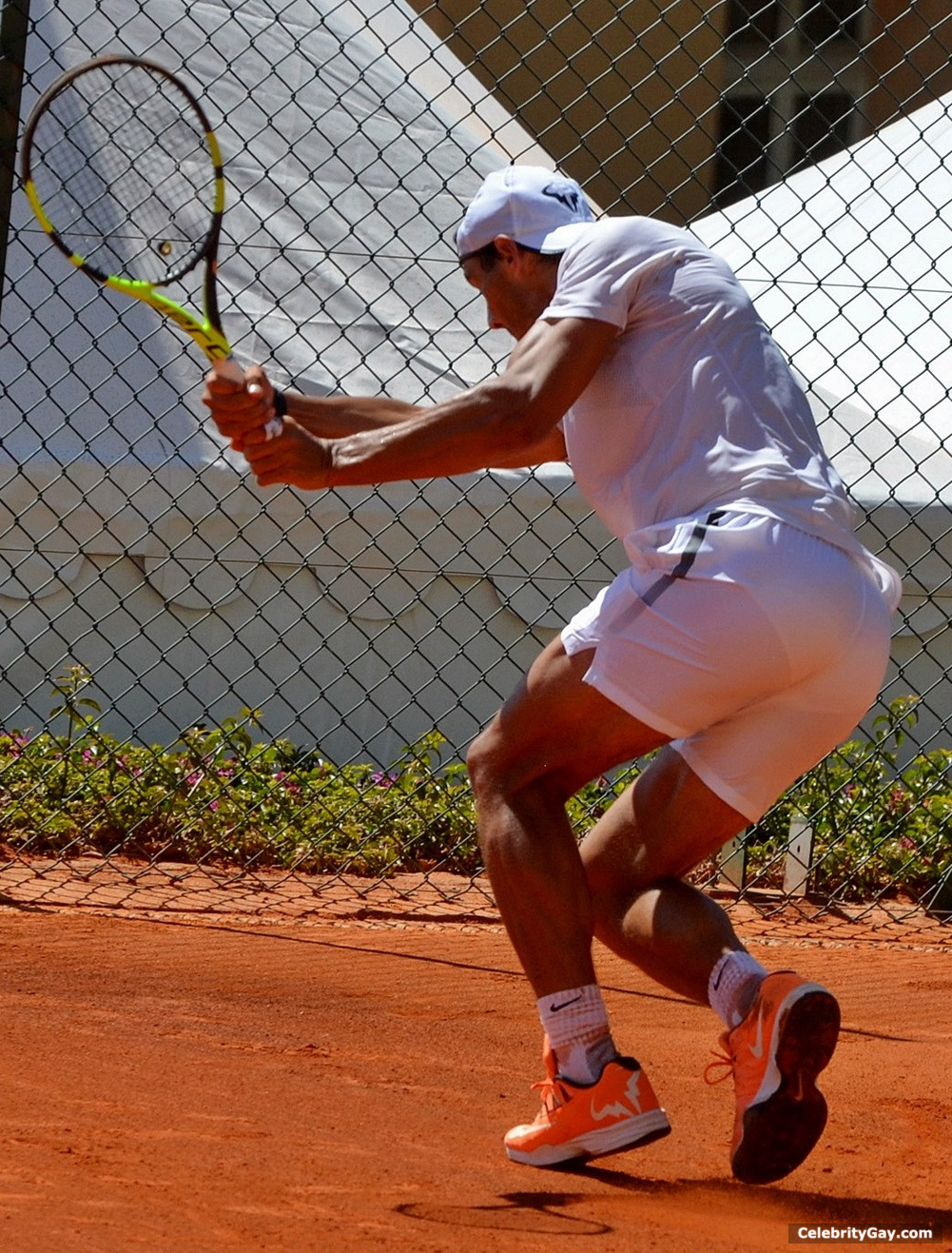from Clay rafael nadal nude photos