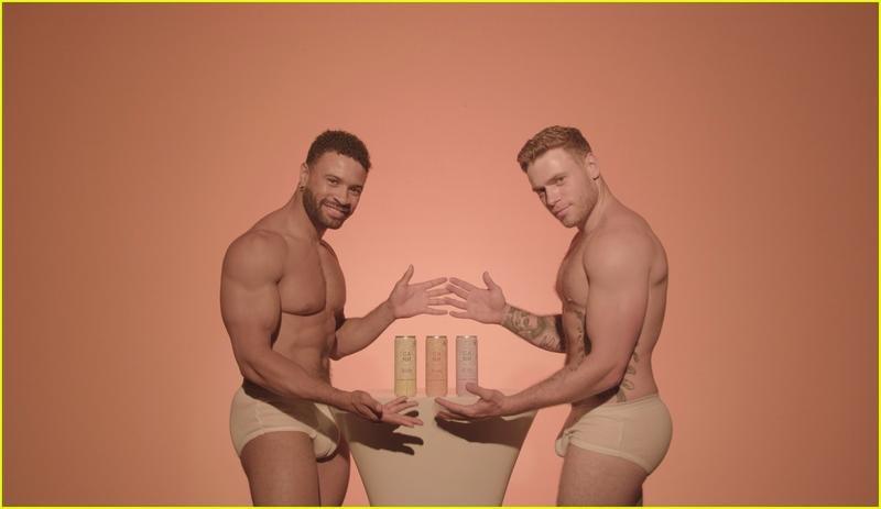 Gus Kenworthy & Ken XY Sexy (4 Photos)